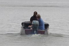 The '51 Big Twin on the lake