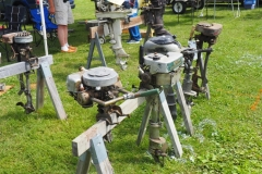 A few of the many motors for sale