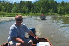 Bob on the river