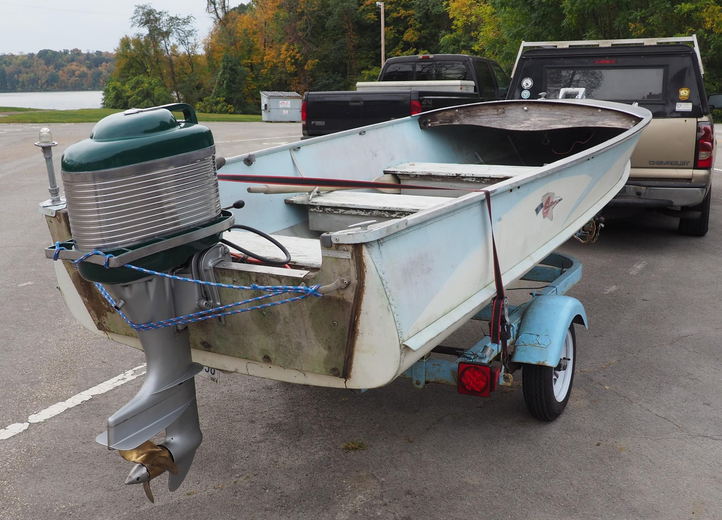 Jay's boat and motor