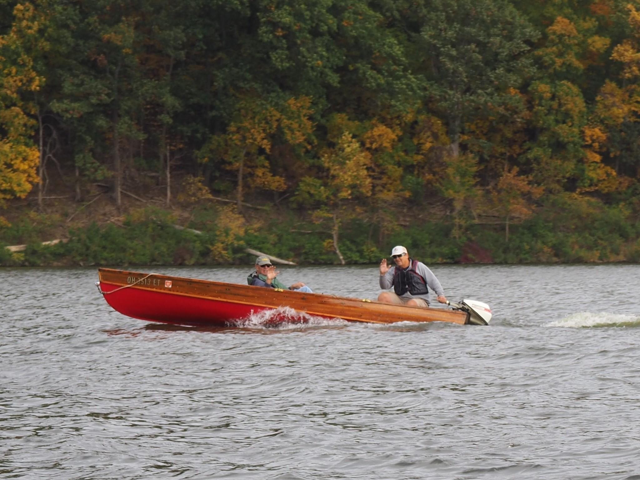 John R and Bob K in Bob's Shell Lake