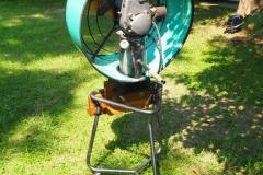 The fan motor