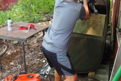 Mason fires up the Merc 40