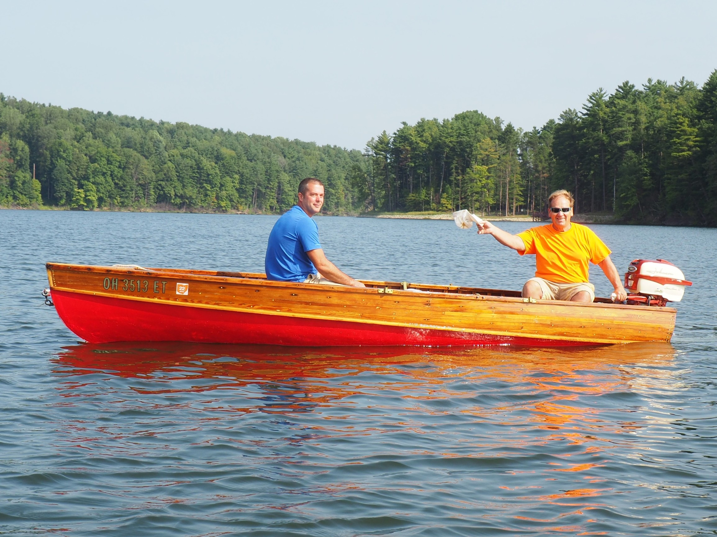 Dan and Bob in the Shell Lake