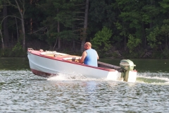 Ryan out on the lake