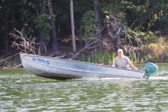 Gary in the Hiawatha-powered Ark